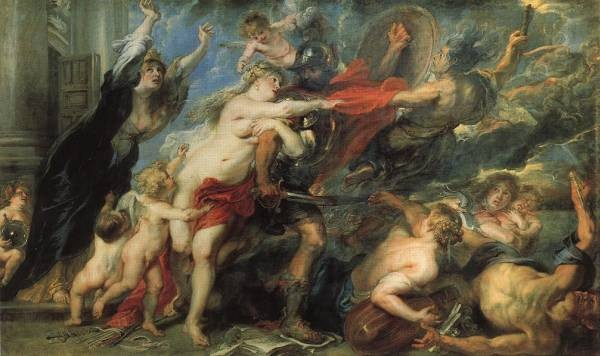 Rubens The Consequences of War